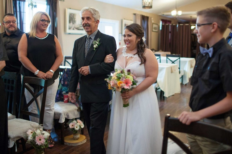 lesters farm wedding processional