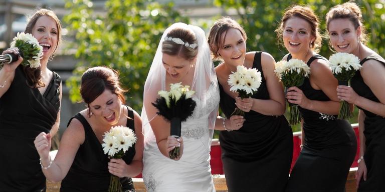 st.john's singing bridesmaids